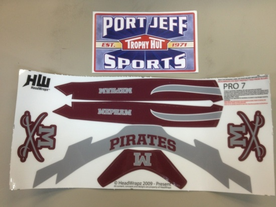 HeadWrapz for sale on PortJeffSports.com and in our retail location